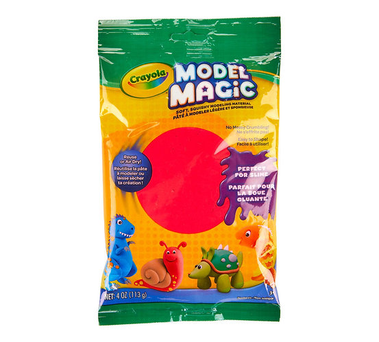 Crayola Model Magic ( Light Clay) for Kids  千色樂神奇海棉黏土