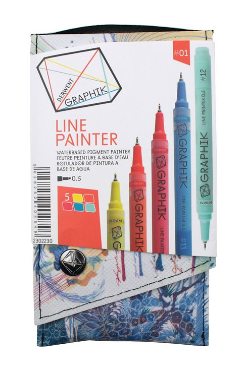Derwent Graphik Linepainter 5 colors set  DW 5色顏色繪圖筆套裝