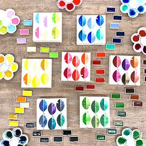 Kuretake Gansai Tambi  Watercolor Sets              日本吳竹牌顏彩耽美系