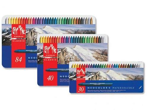 Caran D'ache Neocolor II Aquarelle Crayons Set 專業水溶性蠟筆
