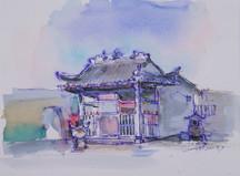 The temple behind St Paul's Ruin / 大三巴牌坊背後之廟宇