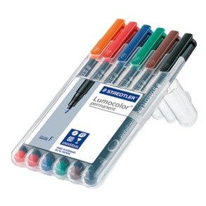 Staedtler Lumocolor Permanent Universal Pen Set   施德樓膠片筆套裝-油性