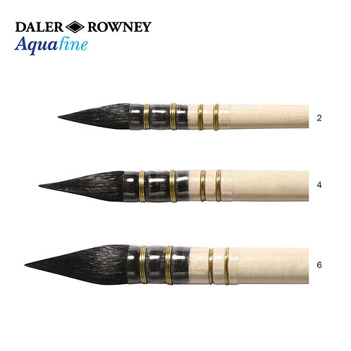 Daler-Rowney Aquafine Brush Pointed Wash  AF24 series-AF24 畫筆
