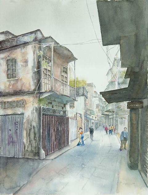Rua de Nossa Senhora do Amparo, Macau / 澳門關前後街