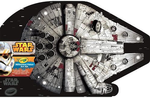 Crayola Star Wars Edition -Millennium Falcon Art Kit   千色樂星球大戰系列填色簿+筆套裝