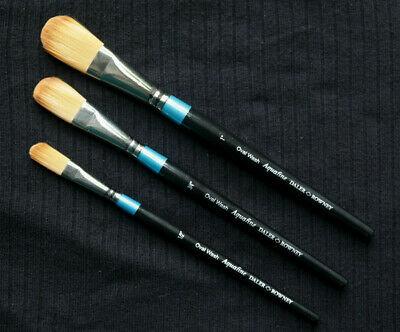 Daler-Rowney Aquafine Syntetic Brush Oval Wash AF52 series-AF52 畫筆