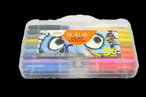 Silky Crayon Series      水溶性炫彩棒