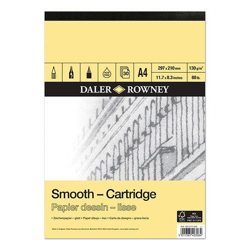 Daler-Rowney Cartridge Pad 130gsm 30sht        畫紙簿