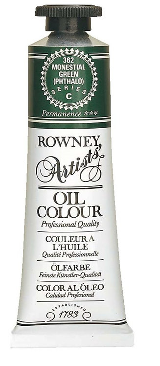 Rowney Artists' Oil Colour 38ml Series F   威美專業油畫顏色 系列 F