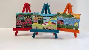 Miniature Wooden Table Easel        迷你座枱畫架