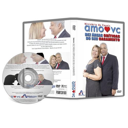 DVD 10 Áreas Crítica Do Casamento