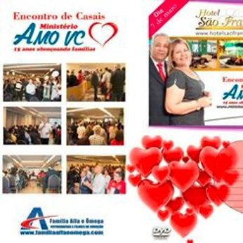 DVD Encontro De Casais Amo Vc