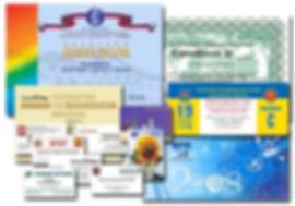Цифрвая пчать дипломов, сертификатов, календарей, приглашений, визиток, открыток и т.п.