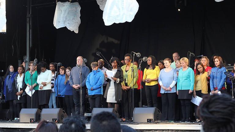 Prayer for The Nations 2016 in Copenhagen, Denmark