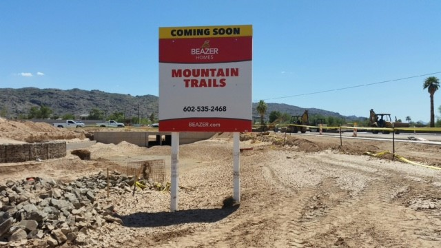Beazer Homes — Mountain Trails