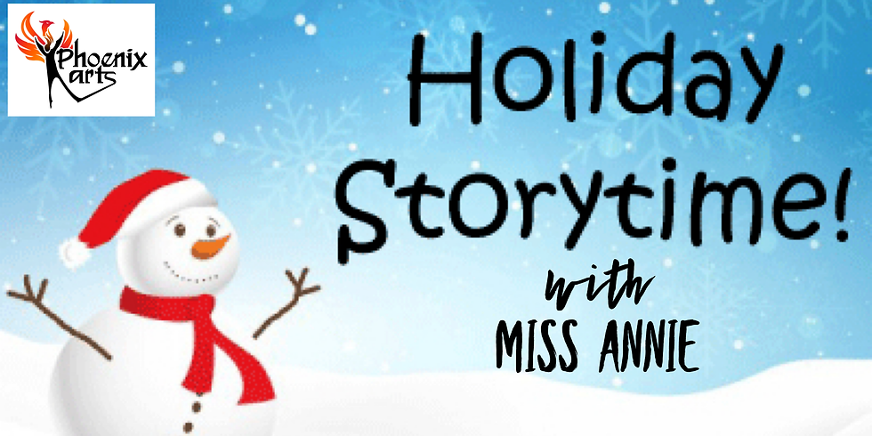 Miss Annie Holiday Story Hour