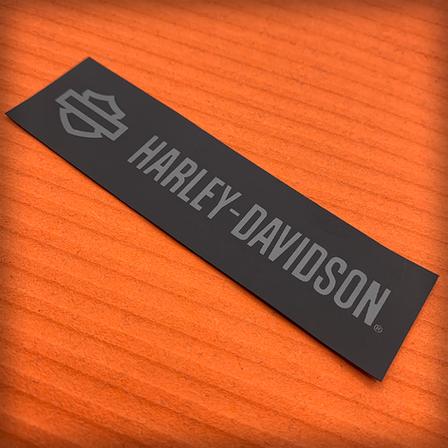 Harley Davidson Label