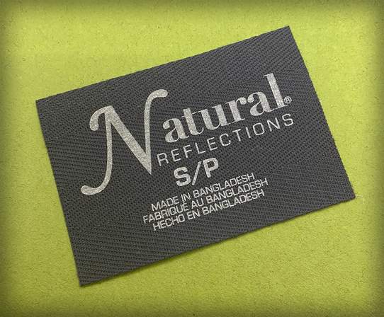 Natural Reflections Label