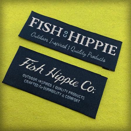 Fish Hippie Labels