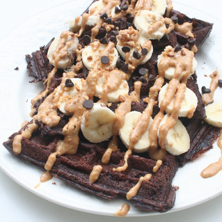 Brownie waffle