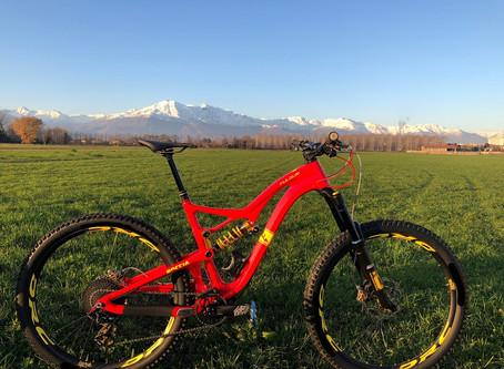 Ecco la nuova bici di Matteo Berta