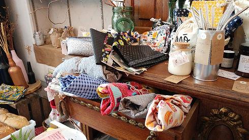 rayon textile et cadeaux - Les Doux Moments