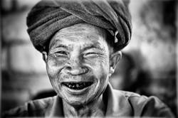 Le sourire d'Arun Kyaw