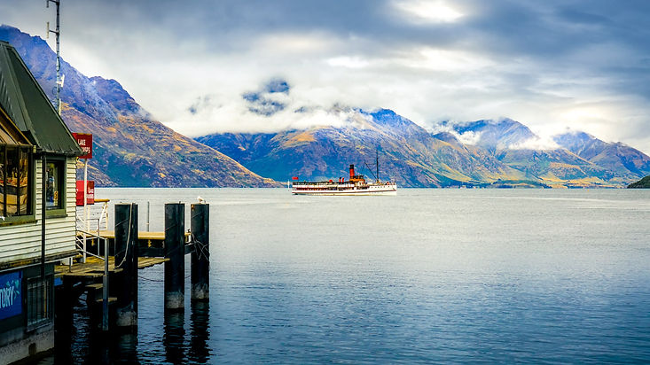Paysage - Les fjords de Queenstown en NZ