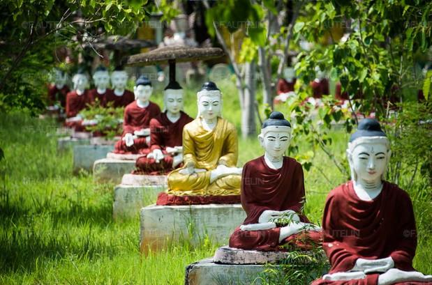 Lieu de recueillement boudhistes