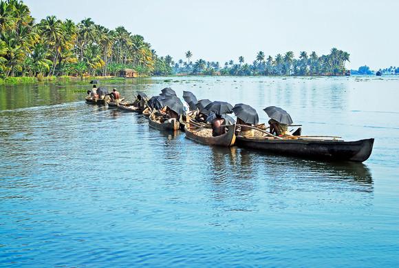 En route pour le Kerala