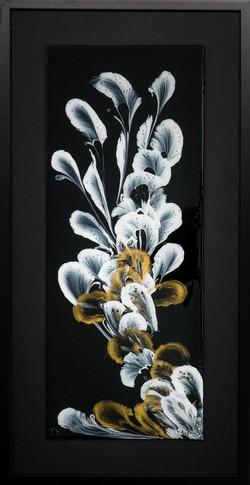 Acrylique sur toile résinée et encadrée 30X60