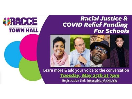 RACCE Town Hall calls for a more equitable distribution of COVID relief funding in schools