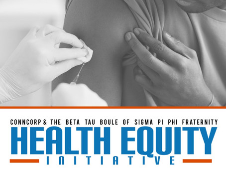 ConnCORP & Beta Tau Boule of Sigma Pi Phi Fraternity Launch Health Equity Initiative