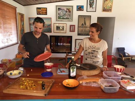 Miam! on a cuisiné les restes avec un grand chef!