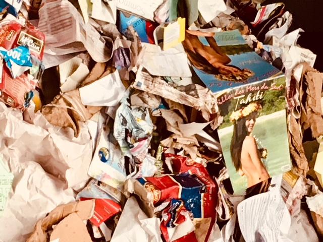 le papier triés