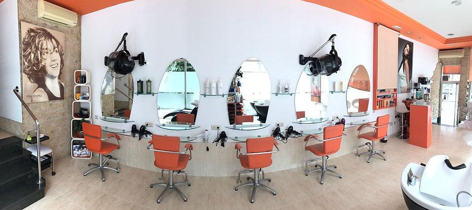 peluquería y estética, salón de belleza
