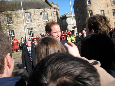 Prince William shook my hand