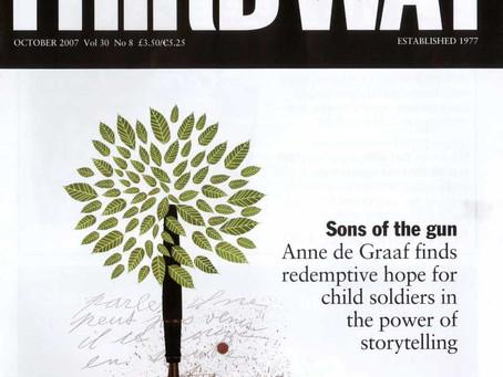 """Article in British magazine """"Third Way"""""""