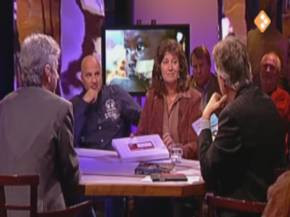 Last Tuesday–On nationwide television with Dutch Minister of Education Ronald Plasterk