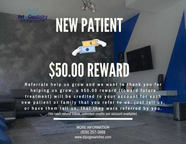 New Patient Rewards