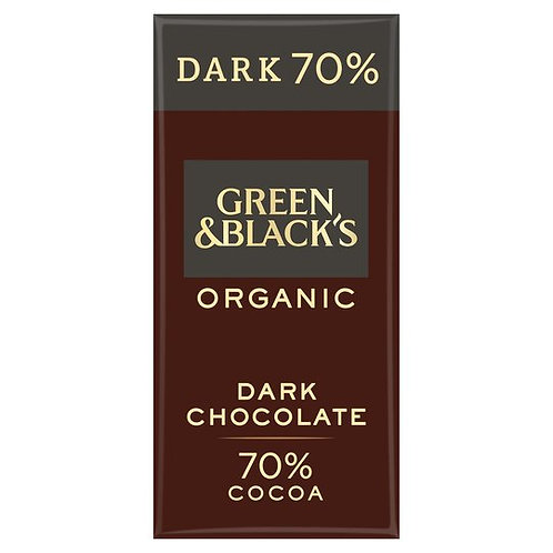 Green & Blacks Organic Dark Chocolate
