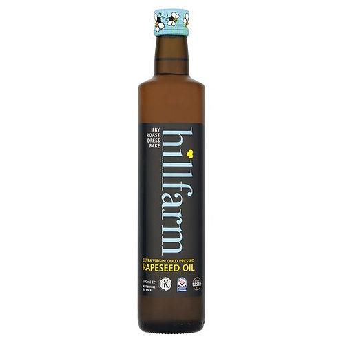 Hillfarm Extra Virgin Cold Pressed Rapeseed Oil (750ml)