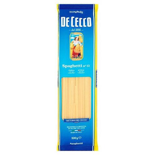 De Cecco Spaghetti (500g) Pasta