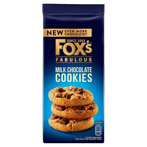 Fox's Milk Chocolate Cookies