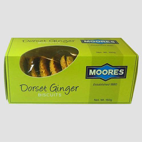 Moores Dorset Ginger Biscuits (150g)