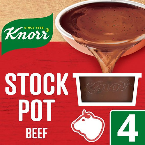 Knorr Stock Pot Beef (4 x 28g)