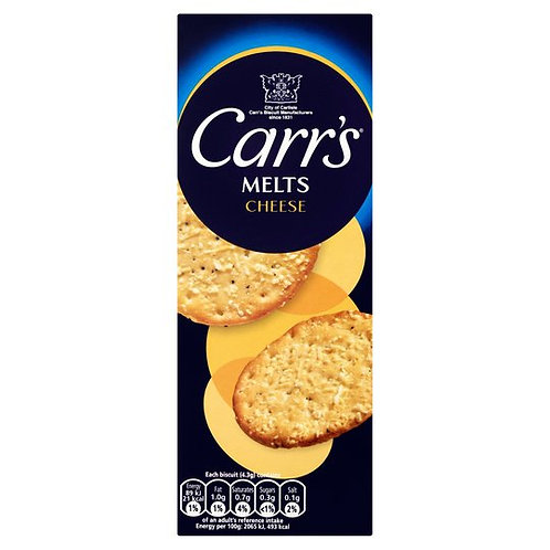Carrs Melts for Cheese