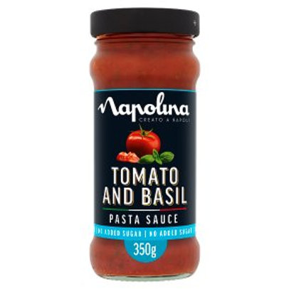 Napolina Tomato & Basil Pasta Sauce
