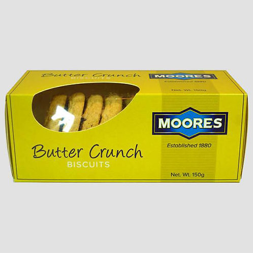 Moores Butter Crunch Biscuits (150g)