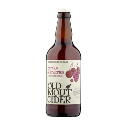 Old Mout Cider Berries & Cherries 4% abv (500ml)